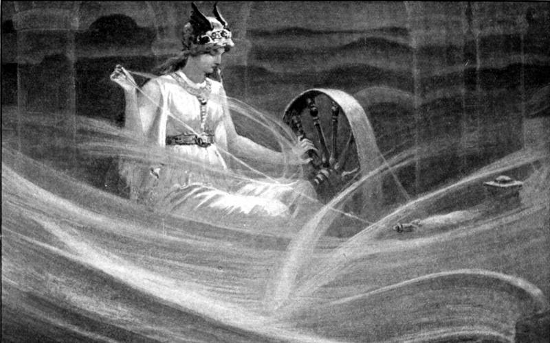 diosas mitología nórdica